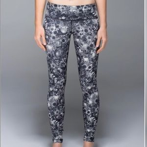 Lululemon floral leggings 8